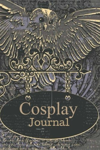 Cosplay Journal: Cosplay Journal for Costume Notes, Events, Sketches, Cosplay Gift, 6x9 Blank and Lined Pages