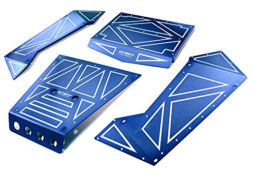 Integy RC Model Hop-ups C27006BLUE Aluminum Alloy Panel Kit for Axial 1/8 Yeti XL Rock Racer Buggy - Rc-kit Yeti