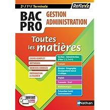 Toutes les matières Bac Pro GA (Gestion Administration) 2de/1re/Tle (12)