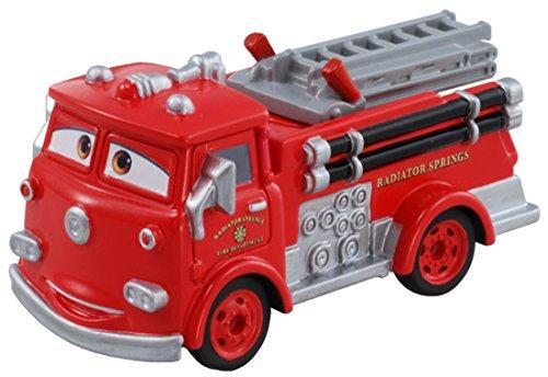Tomica Disney Pixar Cars Red Fire Engine C-07 (Japan) (japan import) Positiv Car Audio