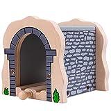 BIGJIGS RAIL Tunnel Grau Für Holzeisenbahn