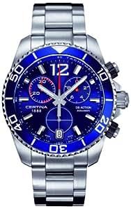 Certina Herren-Armbanduhr XL Chronograph Quarz Edelstahl C013.417.11.047.00
