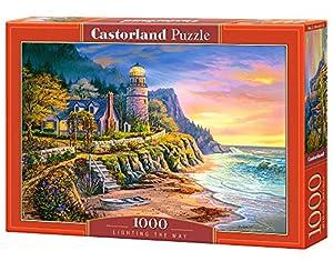 Castor País C de 104161-2Lighting The Way, Puzzle de 1000Piezas