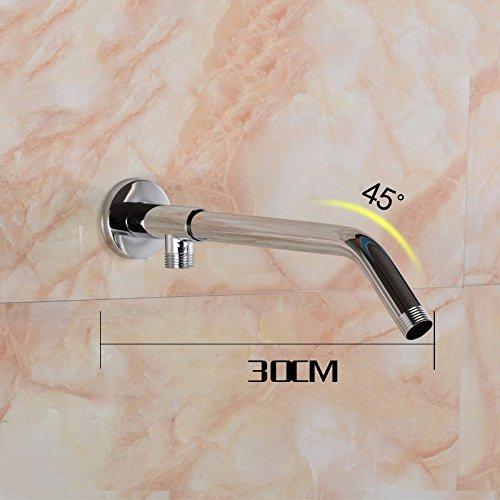 Preisvergleich Produktbild STAZSX KupferDuscheRohrAusgangsrohrderOberschienemountHalterungSchienebase+30cm
