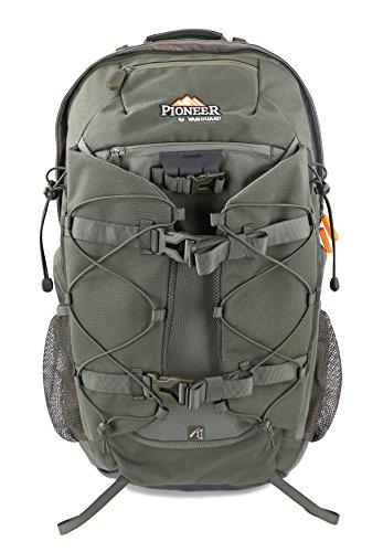 Vanguard Pioneer 2100 Mochila Cazador, Unisex, Verde, 34.0 L