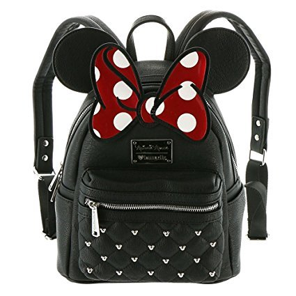 Loungefly Disney Mickey Mouse Suit Mini Backpack Rucksack mit Schleife Minnie Mouse