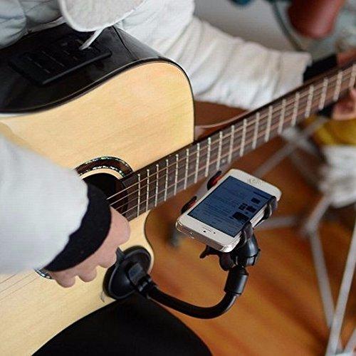 EsportsMJJ Universal-Gitarre Sidekick Halter Musik Spektrum Unterstützung Für Iphone Samsung Xiaomi