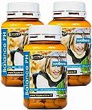 Alcalinizzante Magnesio Calcio dieta alcalina | Energia Vitalità Balance PH Integratore | 3 Box da 100 compresse | Preparato alcalino per la regolazione degli acidi nel corpo | | metabolismo | ossa