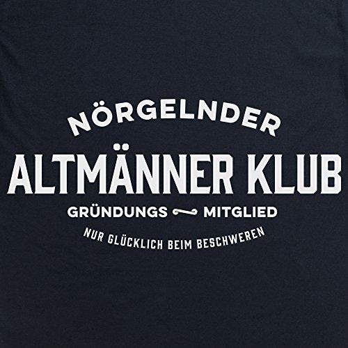 Nrgelnder Altmnner Klub Grndungs T-Shirt, Herren Schwarz