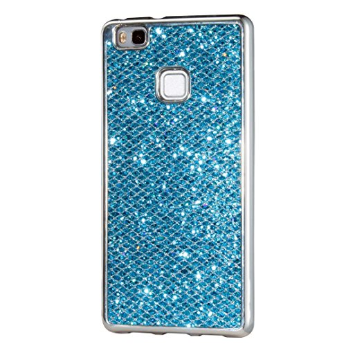 Custodia Huawei P9 Lite, KSHOP Case Cover per Huawei P9 Lite, Shiny Sparkly Bling Bling (Scimmia Riflettore)