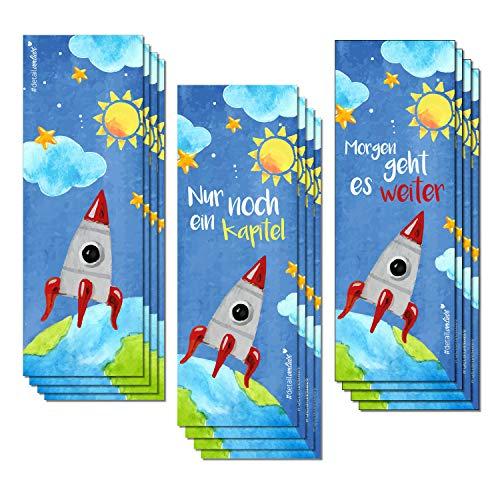 ezeichen I 3 raketen-starke Motive I für Kinder Jungen I Einschulung Schulanfang Schultüte I dv_254 ()