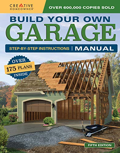 Build Your Own Garage Manual: More Than 175 Plans (English Edition)
