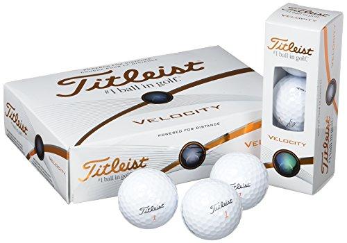 Titleist Velocity - Standard Balles de Golf (polyuréthane)