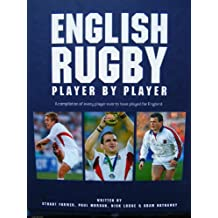 ENGLISH RUGBY PLAYER BY PLAYER