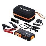 Suaoki G7-Jump de 18000mAh Starter Pack de démarrage d'urgence auto (véhicule de gaz ou diesel 12 V/16 V/19 V lampe de poche LED Chargeur de batterie de secours pour smartphone/Tablette/portable) orange