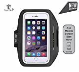 Best Running Armband For Samsung Galaxy S6 - TANTRA Enhandz ArmBand Adjustable Sports Running,Gym,Cycling Anti-slip Ultra Review