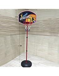 Baloncesto juguetes Set, lommer niños interior y al aire libre baloncesto Stands ajustable baloncesto Shooting extraíble tablero Stands