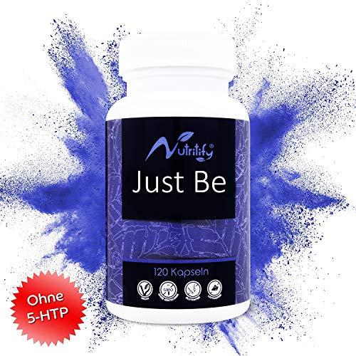 nutritify® ist ein rezeptfreies Mittel mit 500mg Baldrian, Johanniskraut, L-Trytophan (Serotonin-Vorstufe), Passionsblume, Lavendel, Vit. B6² und B12³ für das Nervensystem und die Psyche - 120 Kapseln -