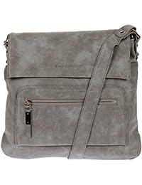 3423 Schultertasche Used Look Handtasche Umhängetasche Shopper Tasche Bag Street