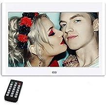 10 Pulgadas Marcos Digitales, NeKan 1024 × 600 de Alta resolución / 1080P HD portaretratos
