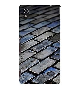 EPICCASE foot path Mobile Back Case Cover For Sony Xperia M4 Aqua Dual (Designer Case)