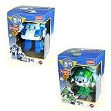 Robocar Poli + Robocar Helly (2 giocattoli robot trasformabile) - Robocar Poli - amazon.it