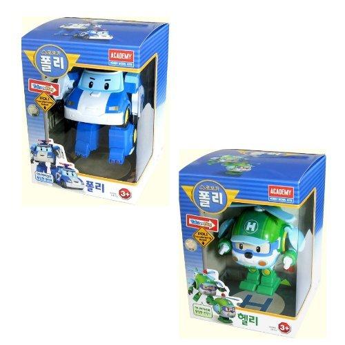Robot Poli (Robocar Poli + Robocar Helly (2 Transformable Robot Spielzeug))