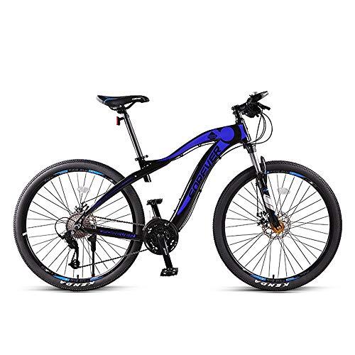 NBWE Mountainbike Erwachsener mit Variabler Geschwindigkeit Offroad Double Shock Absorption Männer und Frauen Racing City Riding 27 Geschwindigkeit 27,5 Zoll Commuter Bicycle