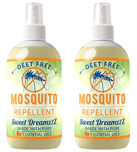 Aromakrafts Natural Mosquito Repellent Room Spray with Essential Oils -...
