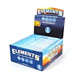 1 box ELEMENTS Slim King Size ULTRA THIN RICE rolling paper - total 1650 papers by Elements