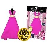 "Fashionette - LOOK N°31 - ""Electra"" - Party dress for 11.5 inch mannequin dolls (28-30cm) : Barbie, Sindy, Disney Princesses, etc..."