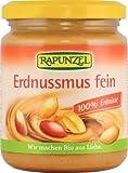 Rapunzel Erdnussmus fein, 2er Pack (2 x 250 g) - Bio
