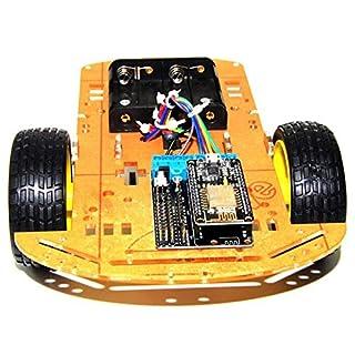 SODIAL Smart Auto Satz Esp8266 WiFi Steuerung Lua 2Wd ESP Nodemcu Smart Auto Fuer Arduino