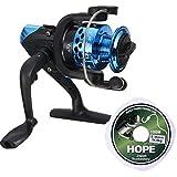 #5: Hunting Hobby Fishing Spinning Reel Spool Vessel Wheel Line Gear Ratio 5.2:1,3BB, Sea Water/Lake Water