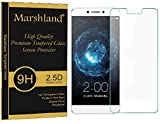 LeEco Le Max 2 Tempered Glass - Ultra Clear Tempered Glass Screen Protector 2.5D Round Edge 0.33mm Thickness 9H Hardnes Anti Explosion Bubble-free Oleo phobic Coating By Marshland®
