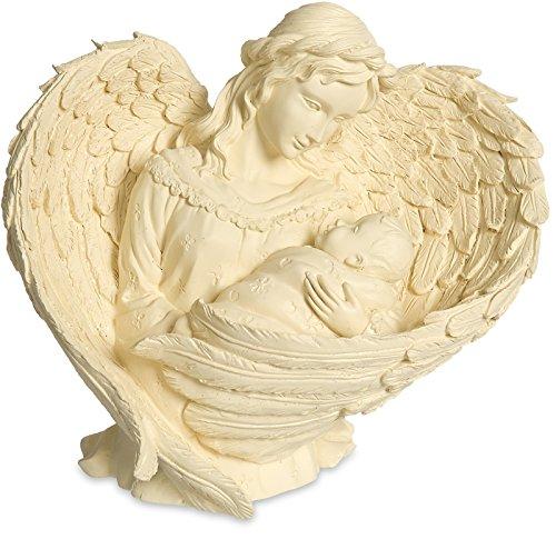 ll Engel und Baby Figur, Essence of Love (Inspirierende Lesezeichen)