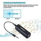 Mpow Bluetooth 4.1 Empfänger Bluetooth Audio Adapter mit Entstörfilter für Stereoanlage, (keine Akku,immer betriebsbereit,Gut mit Echo Alexa,iOS,Android System) für Musikanlage/ HiFi Anlage/Auto Lautsprecher/Musikstreaming-Soundsystem mit AUX und Cinch RCA Kabel - 4