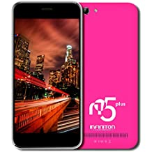 "Infiniton N5 Plus - Smartphone de 5"" (WiFi, Bluetooth, Quad-Core 1.3 GHz, Dual SIM, 16 GB, Android 4.4 KitKat) color rosa"