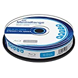 MediaRange MR507 BD-R Dual Layer Blu-ray Disc (50GB 6x Speed, 10 stuks)