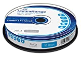 MediaRange MR507 BD-R Dual Layer Blu-ray Disc (50GB 6x Speed, 10 Stück)