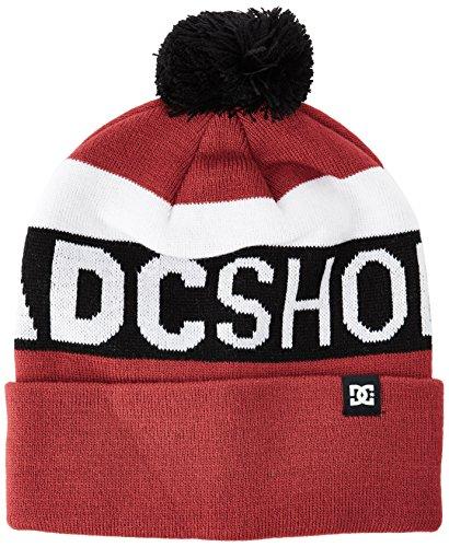 DC Shoes ha Chester M, taglia unica, edyha03017, Uomo, Hat Chester M RRH0, Rosso - Tango red, Taglia unica