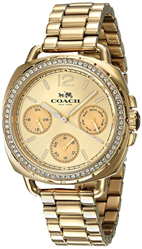 COACH WOMEN'S 34MM GOLD-TONE STEEL BRACELET & CASE QUARTZ WATCH 14502570