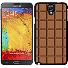 FUNDA CARCASA PARA SAMSUNG GALAXY NOTE 3 NEO (LITE) TABLETA DE CHOCOLATE MOD.2