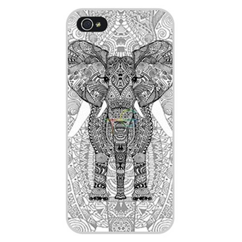 D9Q Kunst Muster Back Cover Hard Case Kunststoff Protector Haut Schild hülle für iPhone 5S 5 (CTV-B) !Farbe 24