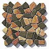 M-007 Marmor Mosaikfliesen Naturstein Bruchsteinmosaik Fliesen Lager Verkauf Stein-Mosaik Herne NRW
