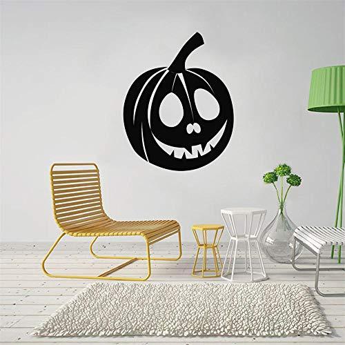 Applique Dekoration Halloween Serie Kürbis Innovative Geschnitzte Wandaufkleber Abnehmbare Dekorative Aufkleber 3 Stücke ()