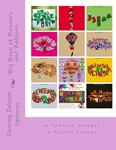 and Balloons: 16 Pattern Designs in Plastic Canvas ()