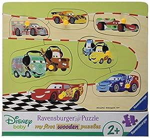 Ravensburger 00.003.686 Puzzle - Rompecabezas (Rompecabezas de Figuras, Vehículos, Niño pequeño, 2 año(s), Madera, 240 mm)
