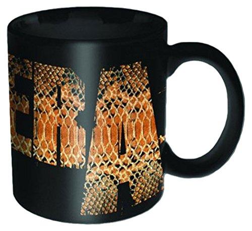 ra - Snake - Größe (cm), ca. Ø8,5 H9,5 - Lizenz Tassen, NEU - Pantera Boxed Mug: Snake - Beschreibung: - Keramik Tasse, schwarz, bedruckt, Fassungsvermögen 320 ml, offiziell lizenziert, spülmaschinen- und mikrowellenfest - ()