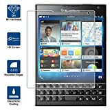 Beiuns Vidrio Templado Protector de Pantalla para BlackBerry Passport / Q30